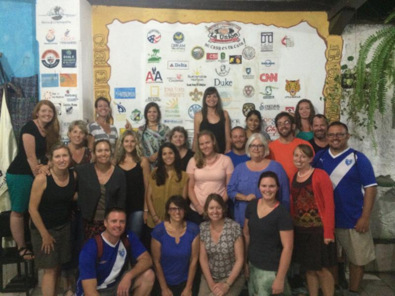 2014 Spanish4Educators Group in Antigua, Guatemala