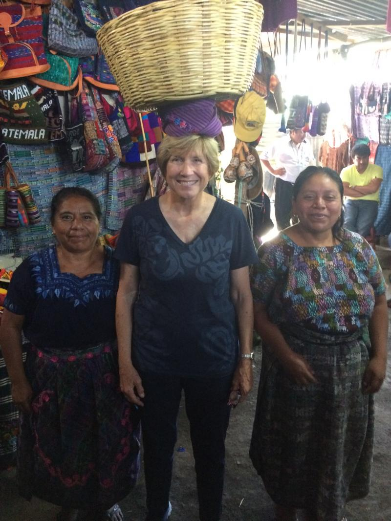 Spanish4Educators Participant with Mayan Women Teacher